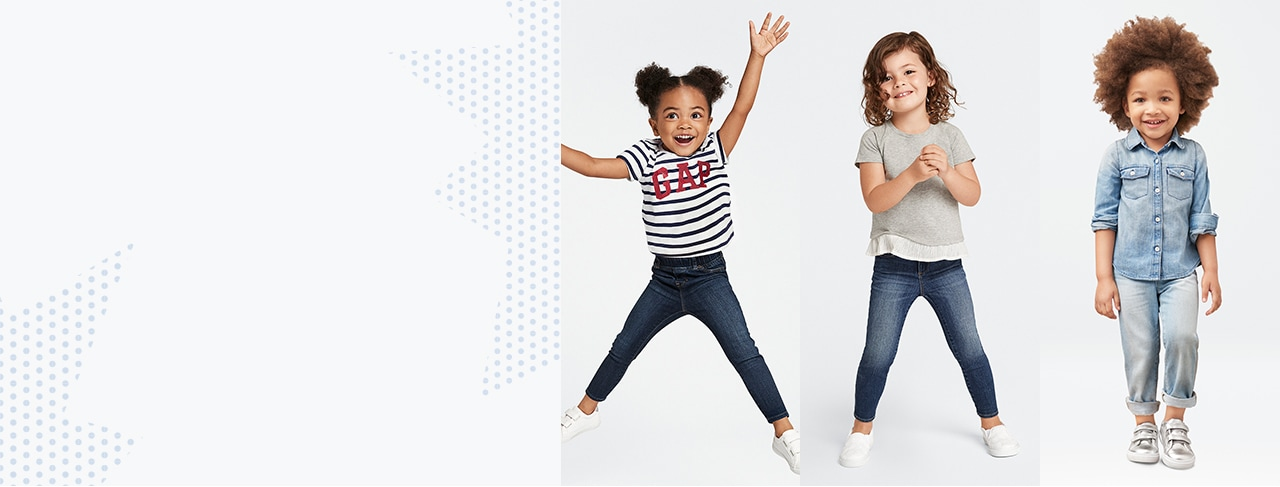 shop toddler girls denim