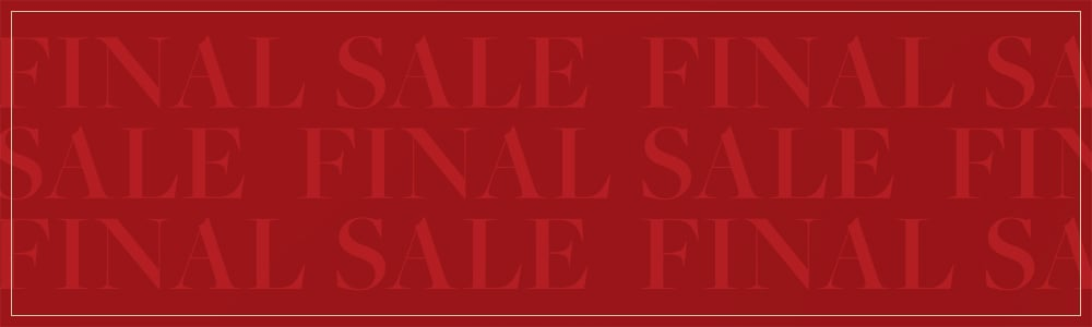Final sale. Up to 70% off sale style.